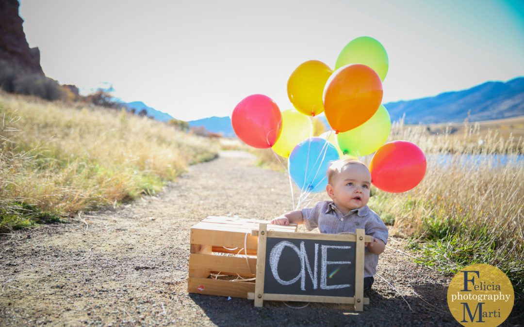 First Birthdays & Balloons