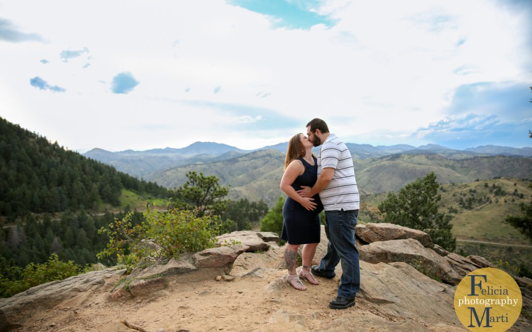 Mountain Maternity Photos
