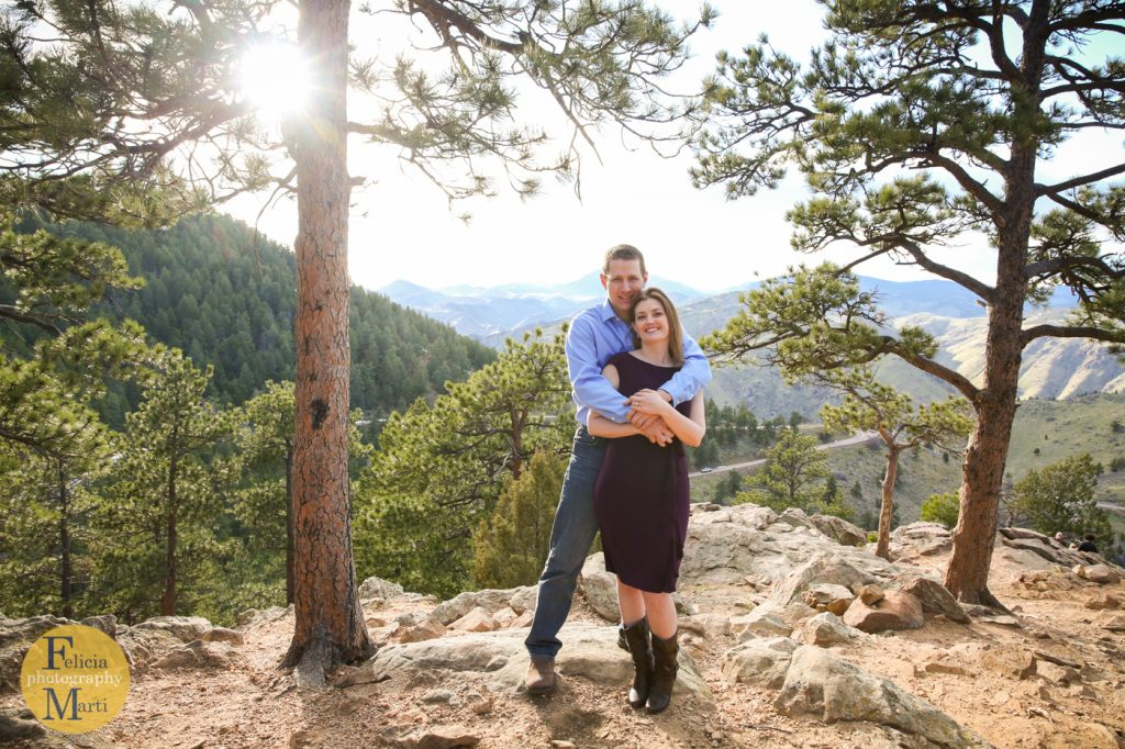 Colorado Mountain Engagement Photography-10