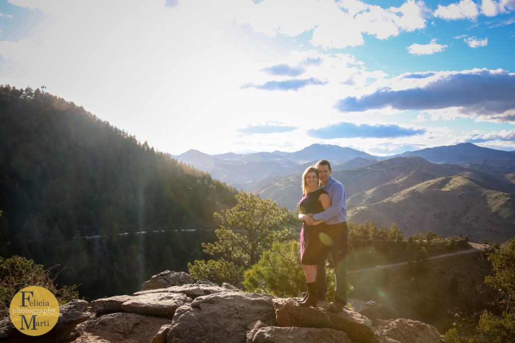 Colorado Mountain Engagement Photography-12