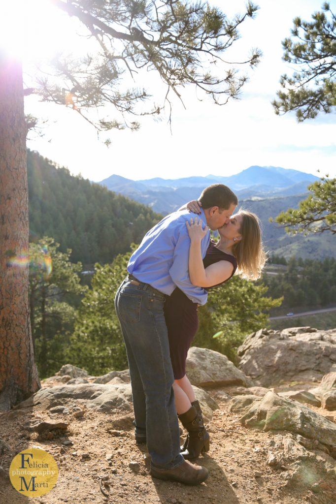 Colorado Mountain Engagement Photography-13
