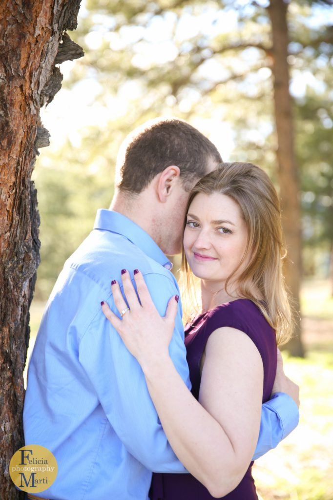Colorado Mountain Engagement Photography-15