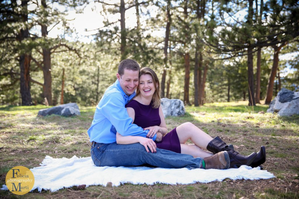 Colorado Mountain Engagement Photography-17