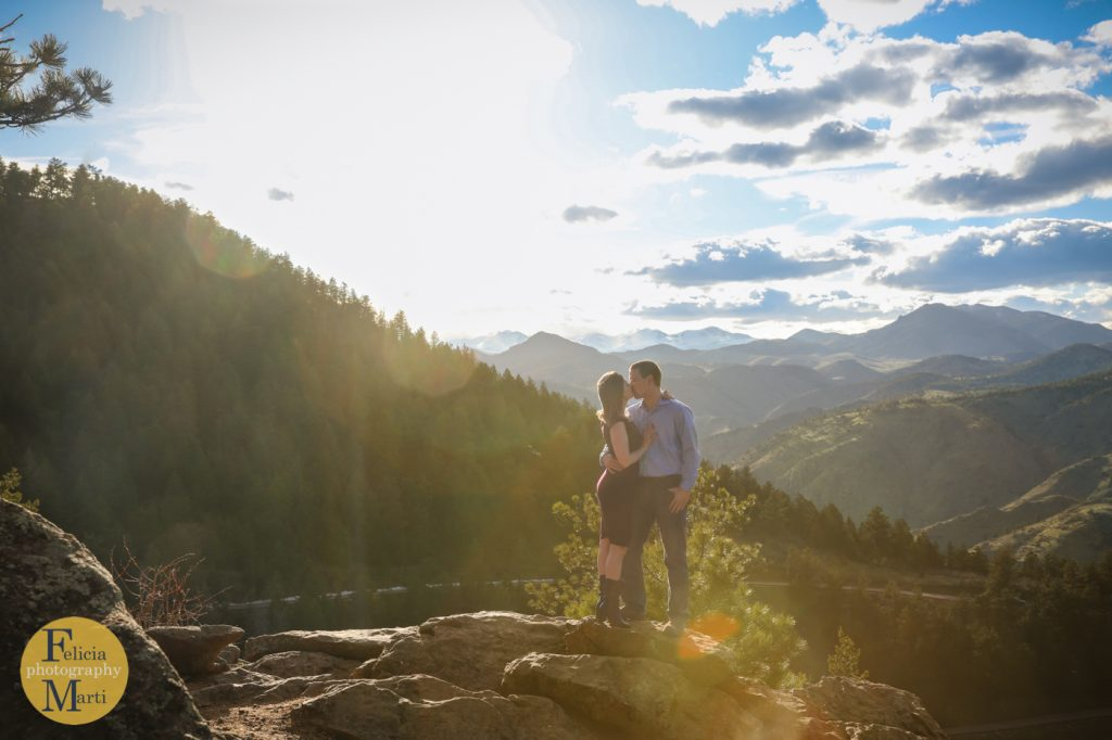 Colorado Mountain Engagement Photography-2