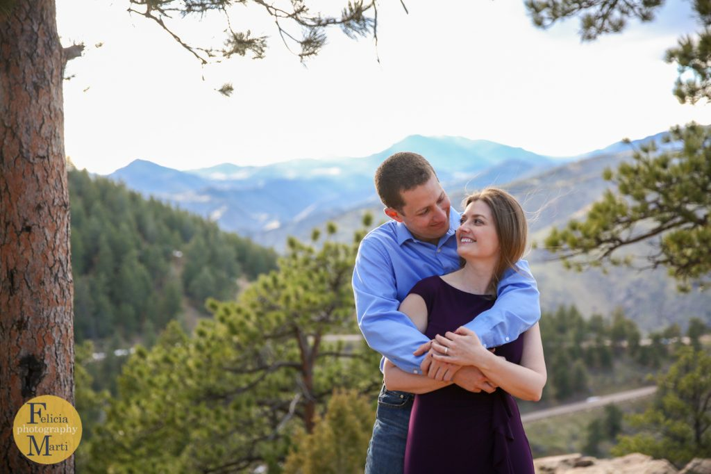 Colorado Mountain Engagement Photography-20