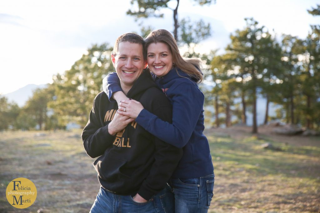 Colorado Mountain Engagement Photography-22
