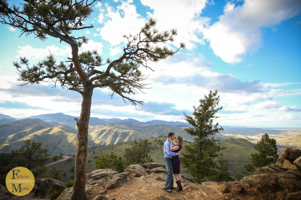 Colorado Mountain Engagement Photography-6