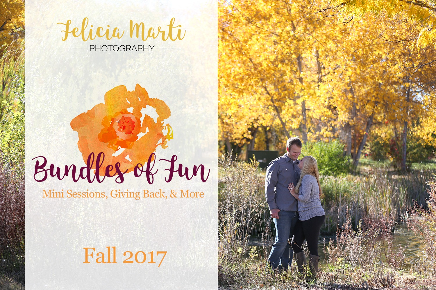 Bundle of Fun: Fall Family Sessions